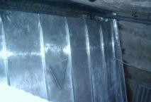 couverture en zinc à joint de bout